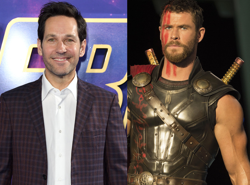 Paul Rudd, Chris Hemsworth