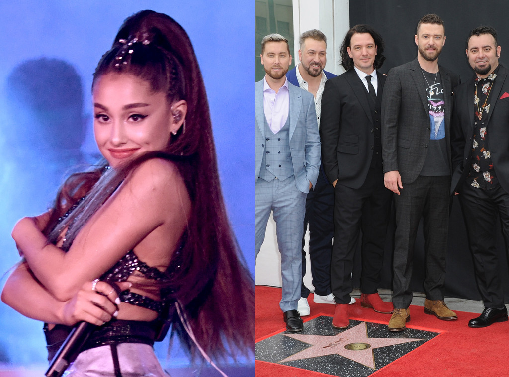 Ariana Grande, *NSYNC