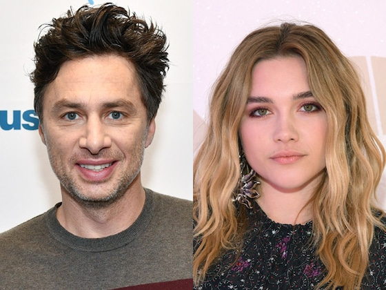 """Florence Pugh Sends Birthday Tribute to Her """"Special Person"""" Zach Braff"""