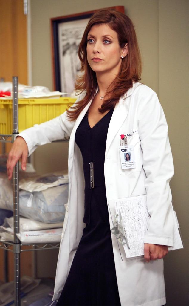 Kate Walsh as Addison Montgomery -  Addison, the woman who began as Derek Shepherd's bitter estranged wife and eventually became a fan fave with her own spinoff, was last seen on Grey's Anatomy in that somewhat controversial musical episode in season seven, when she helped save Callie after her car accident. She also appeared in the 2012 episode where Meredith imagined that her mother was still alive and happily married to Richard, while Derek and Addison were still unhappily married.