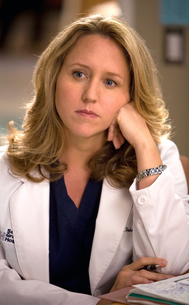 Brooke Smith as Erica Hahn -  Erica Hahn and Callie Torres sort of discovered their sexualities at the same time and started a relationship, and it might have gone somewhere...until Erica learned what Izzie had done with the LVAD wire, and realized that the heart she had stolen for Denny (which was then wasted) was supposed to have gone to one of her own patients. When Callie refused to report the situation, Erica up and left the relationship and her job in early season five.