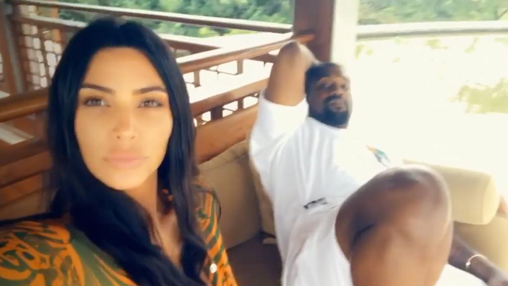 Kim Kardashian, Kanye West, Bali