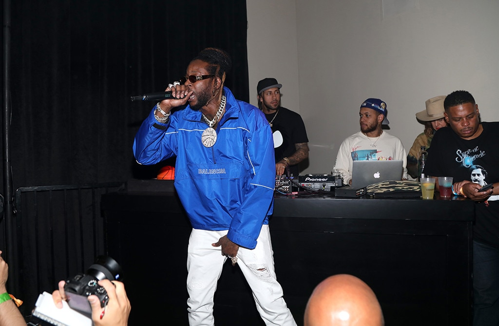 2 Chainz -  The rapper performs at the TAO X Revolve Desert Nights bash.