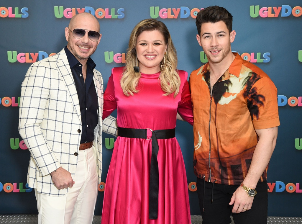 Pitbull, Kelly Clarkson, Nick Jonas