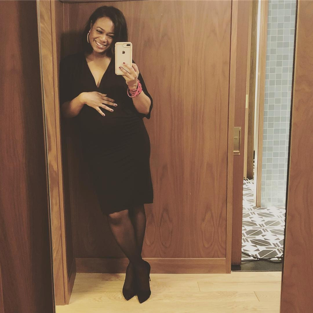 Tatyana Ali, Pregnant, Baby Bump, Baby No. 2