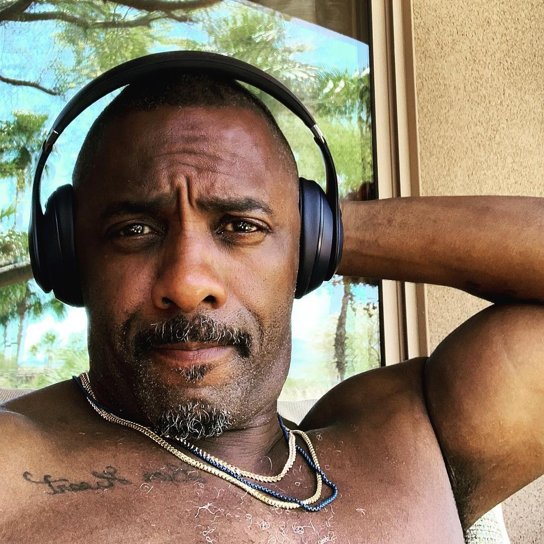 "Idris Elba -  ""You ready @coachella ?????? I am!!!!! Game face. Let's get it,"" the British actor and DJ captioned this selfie before his performance."