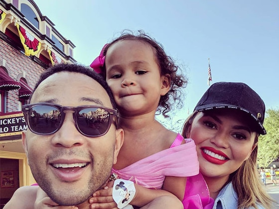 Chrissy Teigen and John Legend's Daughter Luna Is Already a <i>SNL</i> Star in the Making