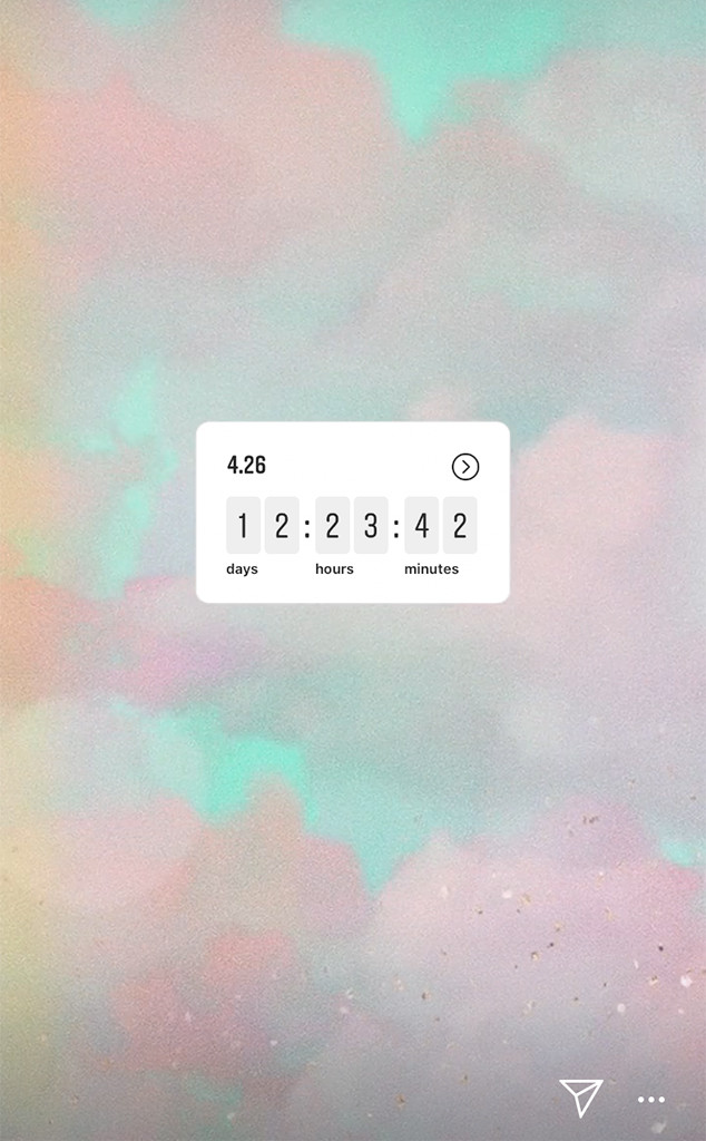 Taylor Swift, Countdown Clock