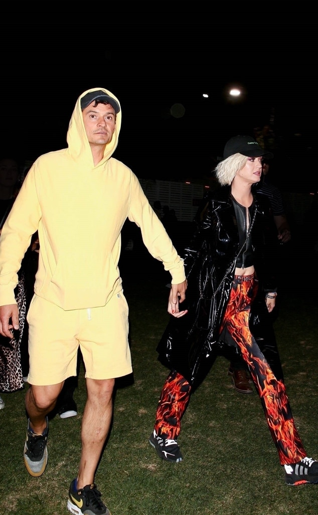 Katy Perry & Orlando Bloom -  The engaged couple is Coachella ready!