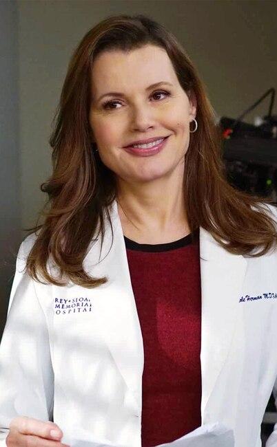 Geena Davis, Grey's Anatomy
