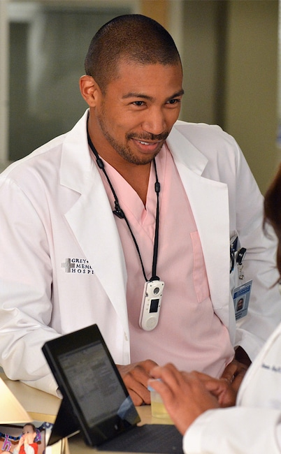 Charles Michael Davis, Grey's Anatomy