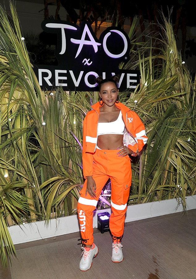 Tinashe -  The star appears at the TAO X Revolve Desert Nights bash.