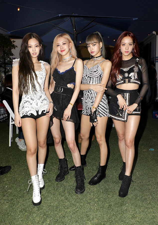 BLACKPINK -  The singers appear at the YouTube Music Artist Lounge. They are the first K-Pop girl girl group to perform at Coachella and YouTube live-streamed their performance in Times Square in New York City.