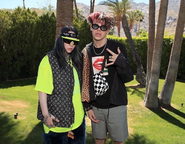 Billie Eilish and Yungblud from Celebridades en Coachella ...