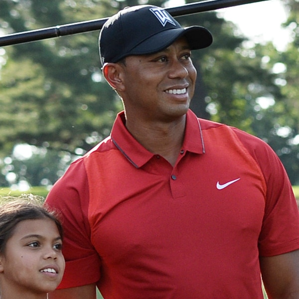 tiger woods shares sweet moment with kids after he wins