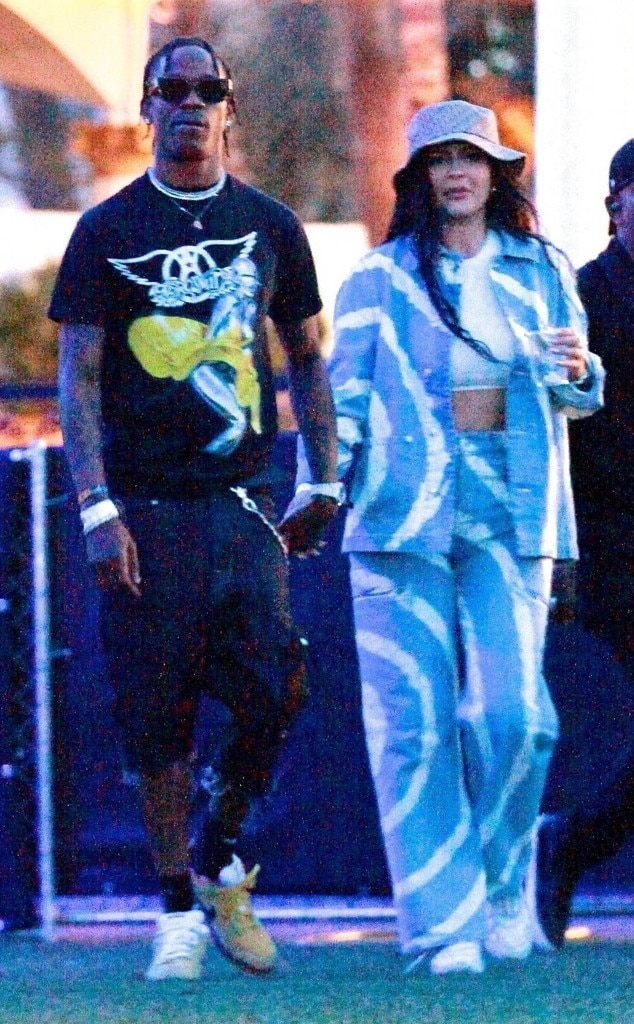 Kylie Jenner and Travis Scott -  The two return to the music festival, two years after they first sparked romance rumors there.