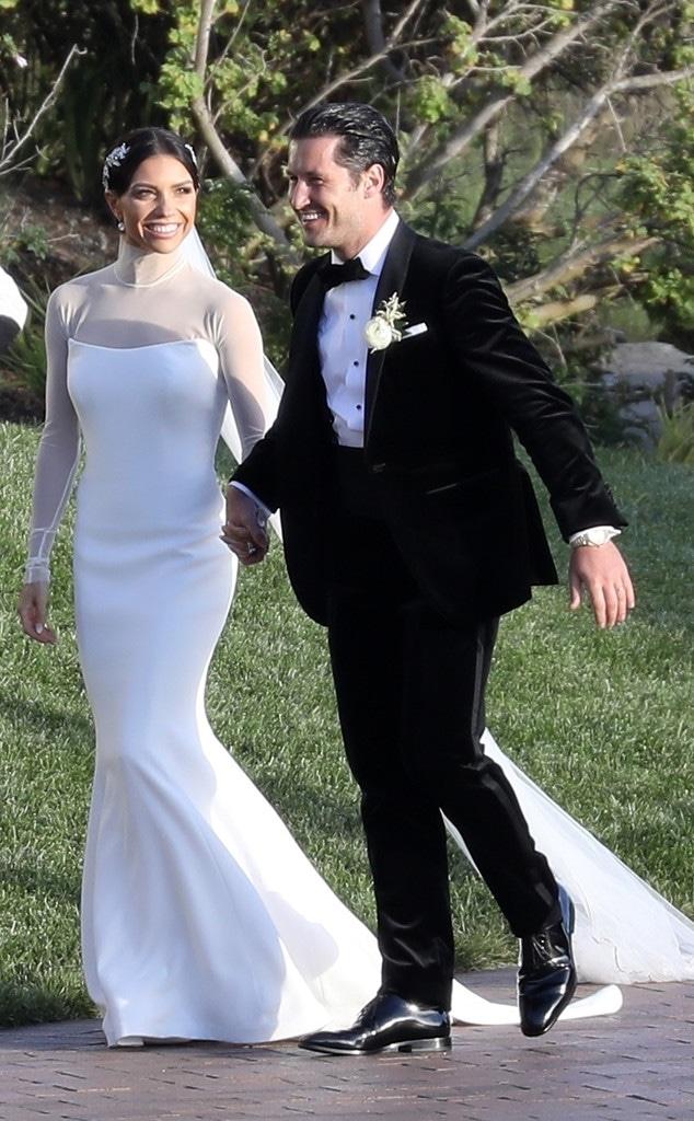 Jenna Johnson, Val Chmerkovskiy, Wedding