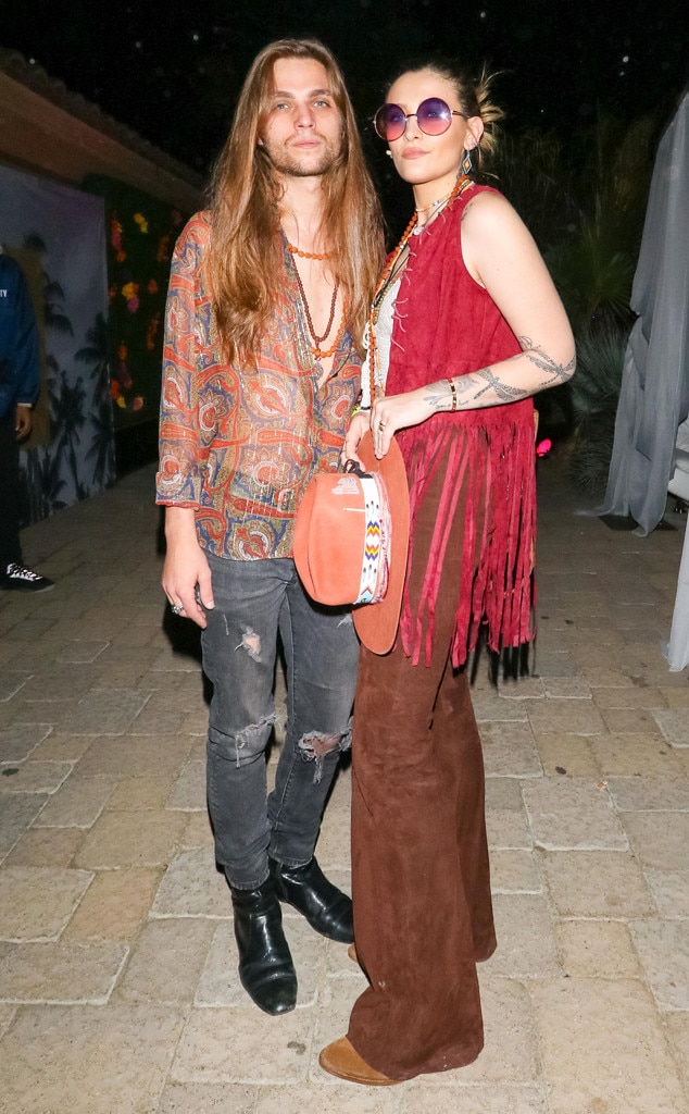 Paris Jackson and Gabriel Glenn -  The model and daughter of the late Michael Jackson appears with herbeau and Soundflowers band mate.