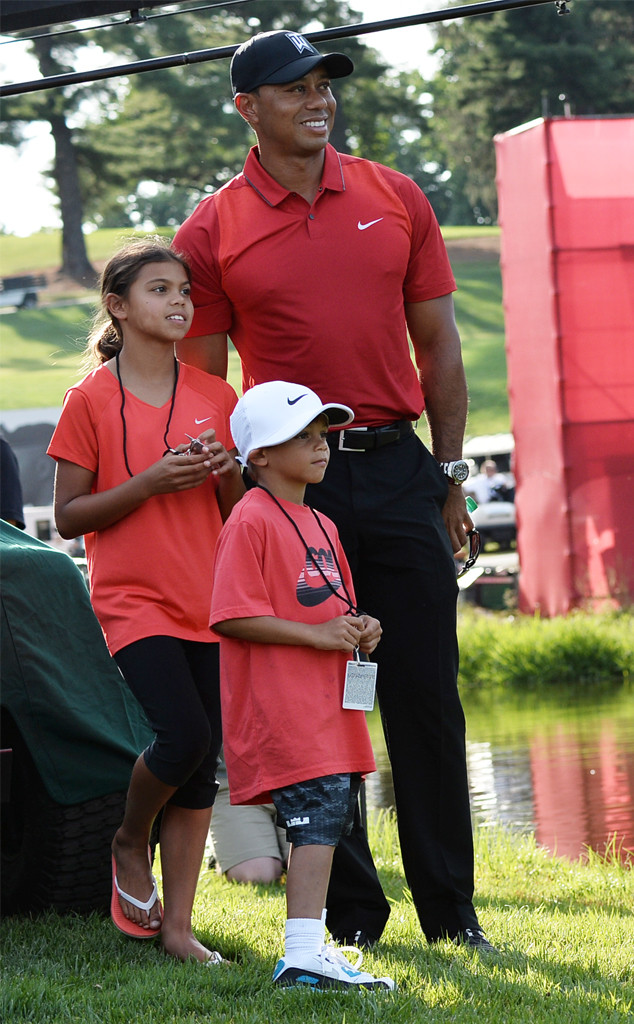 Tiger Woods, Sam Woods, Charlie Woods