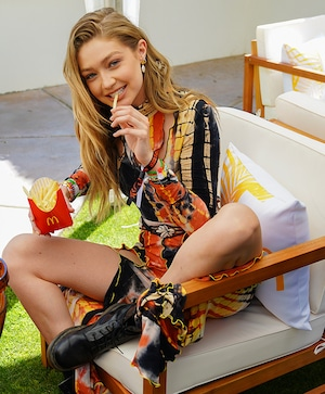 Gigi Hadid, French Fries, McDonald's, Coachella 2019, Party