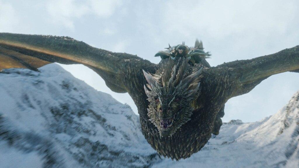 Dragon Rider -  Jon Snow rides his first dragon.