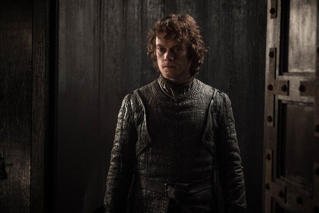 Theon -  Alfie Allen as Theon Greyjoy.