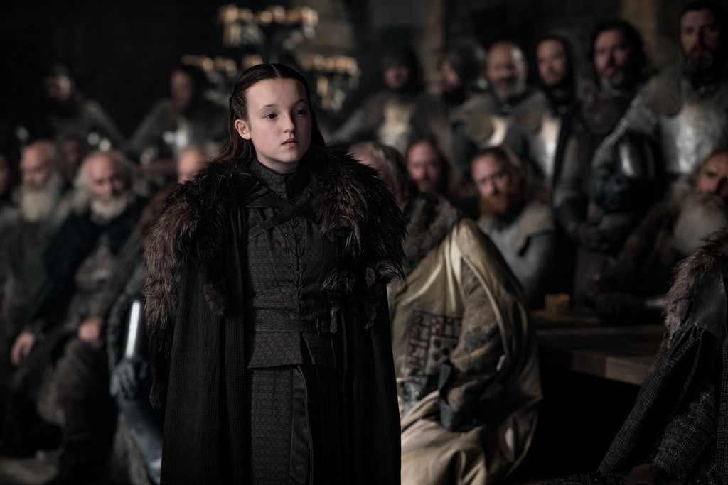 Lyanna -  Bella Ramsey as Lyanna Mormont.