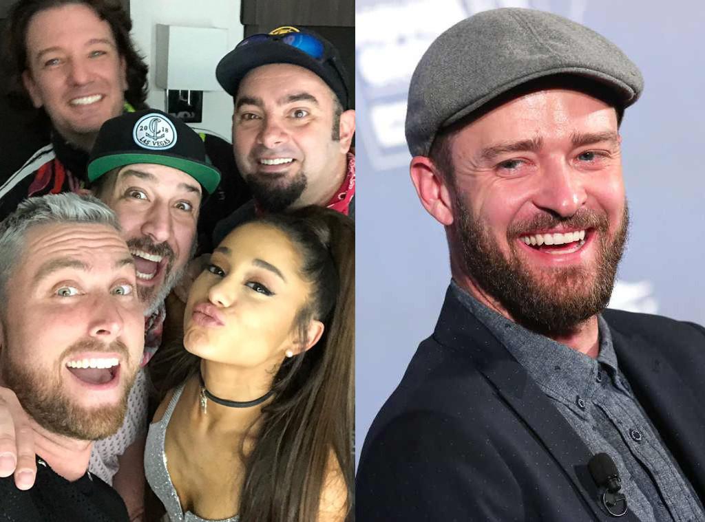 Justin Timberlake, NSYNC, Ariana Grande