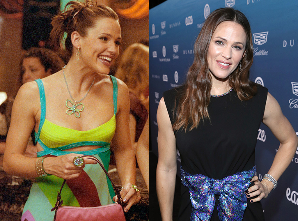 Jennifer Garner, 13 Going on 30, Then and Now
