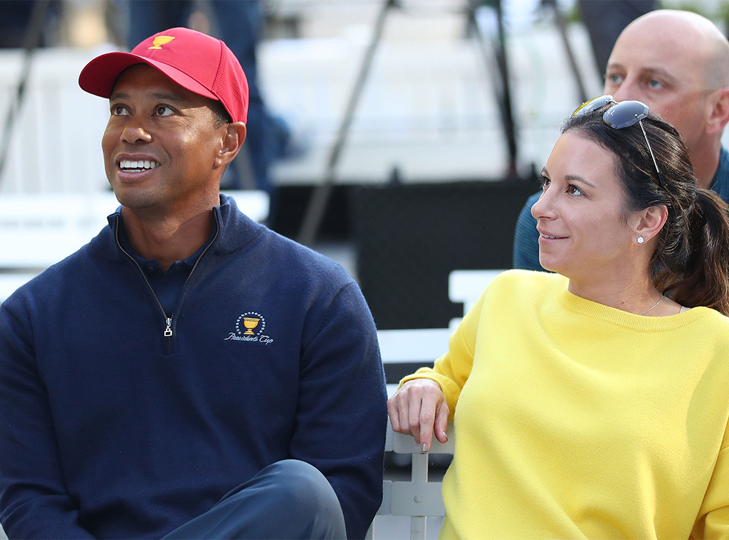 Tiger Woods, Erica Herman, 2018 Presidents Cup