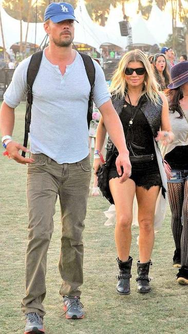 Coachella Festival, Fergie, Josh Duhamel