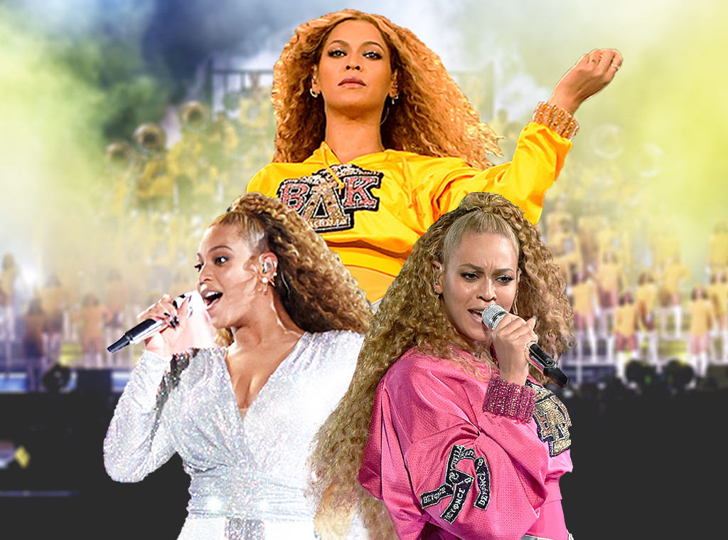Beyonce, Coachella, Collage