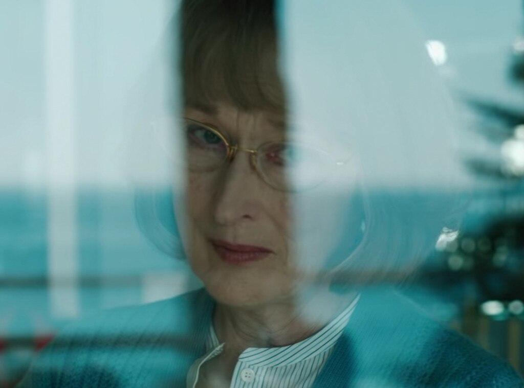 """""""My Son Is Dead"""" -  In the trailer, Meryl Streep's Mary Louise Wright says she wants answers, and she knows she's not going to get them from Madeline. """"My son is dead. I want to know what happened that night. I'm very tempted to ask you, but I don't think I would get the truth, would I?"""""""