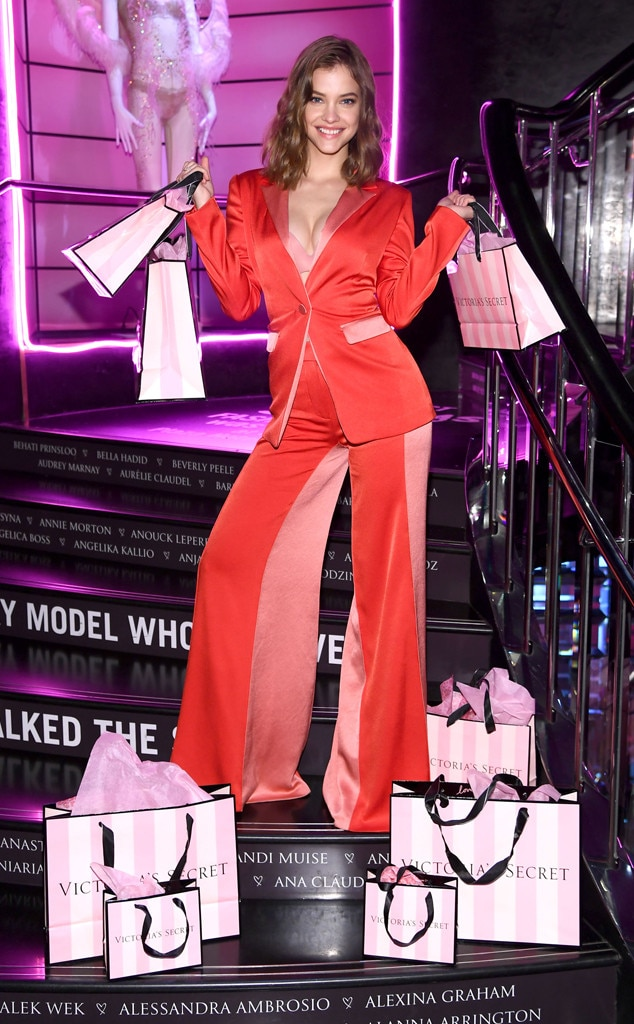 Barbara Palvin -  The Victorias Secret model looked glamorous from head to toe as she launches her new Collection called  New Incredible  by Victorias Secret in NYC.