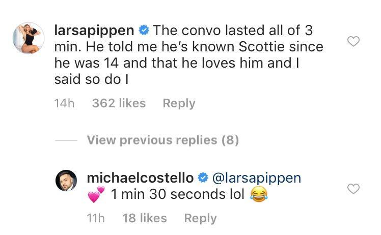 Larsa Pippen, Instagram