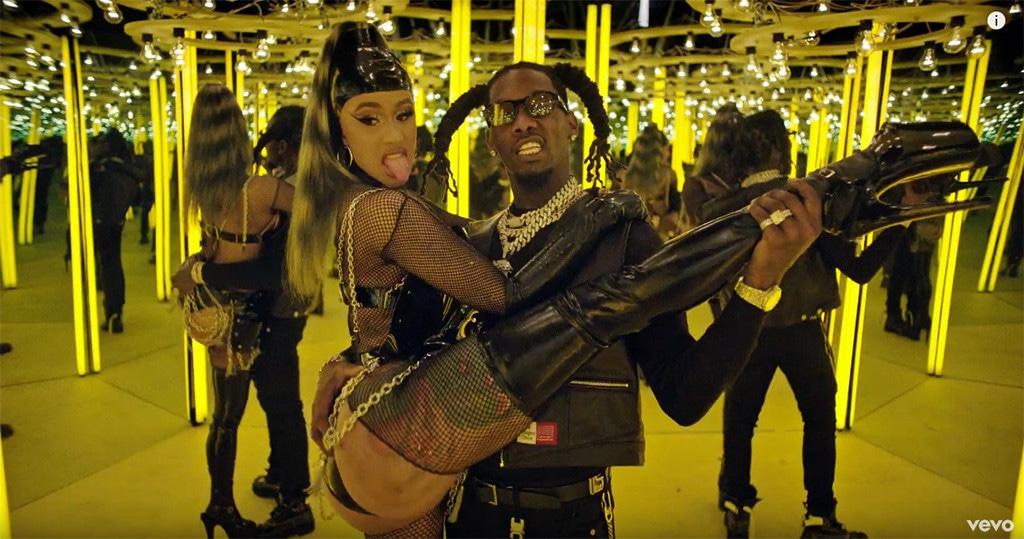 Cardi B, Offset, Clout, Music Video