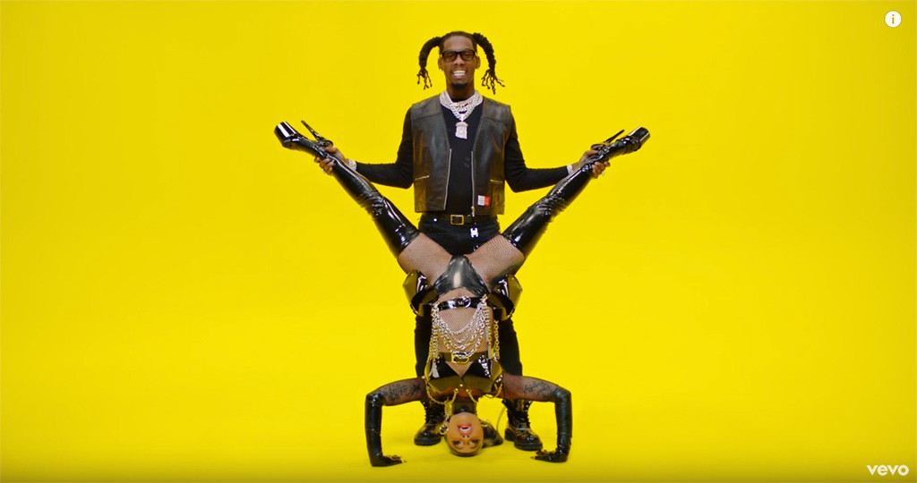 Cardi B, Offset, Clout, Music Video