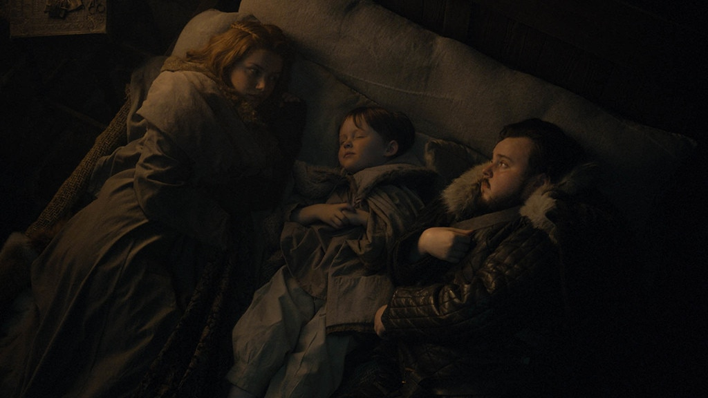 Family Time, Episode 2 -  Hannah Murray as Gilly and John Bradley as Samwell Tarly in episode two.