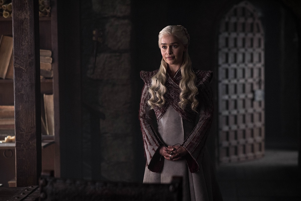 Daenerys, Episode 2 -  Emilia Clarke as Daenerys Targaryen in episode two.