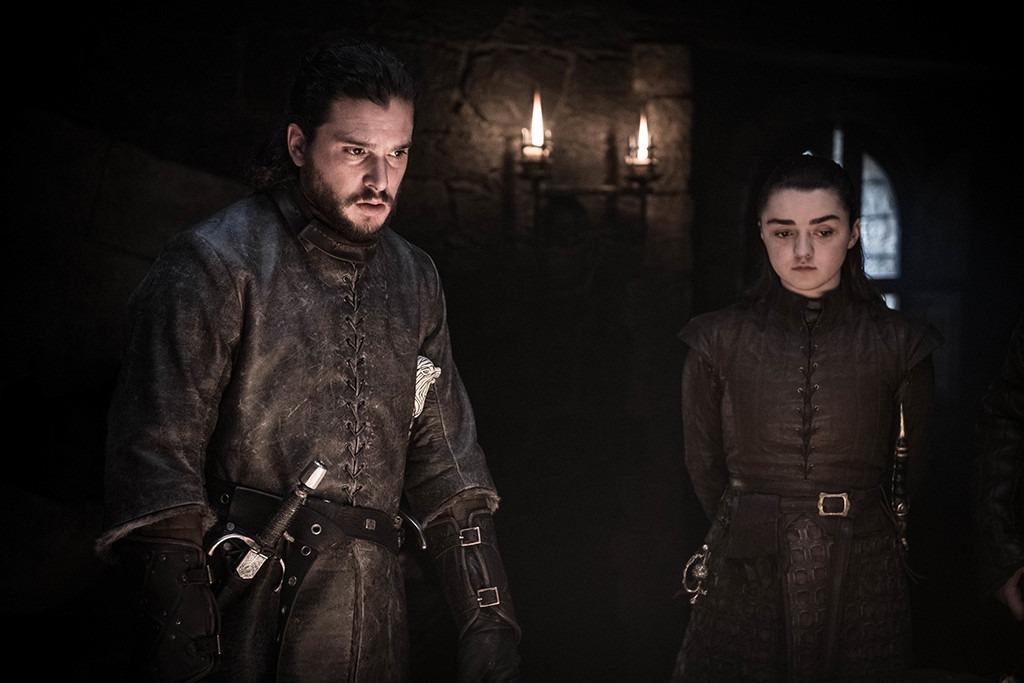 Game of Thrones Episode 2, Jon, Arya
