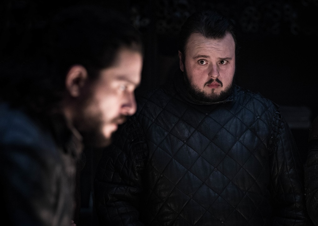 Episode 2 -  Kit Harington as Jon Snow and John Bradley as Sam in episode two.