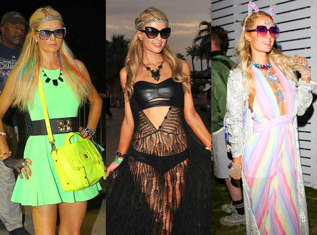 Paris Hilton, Coachella