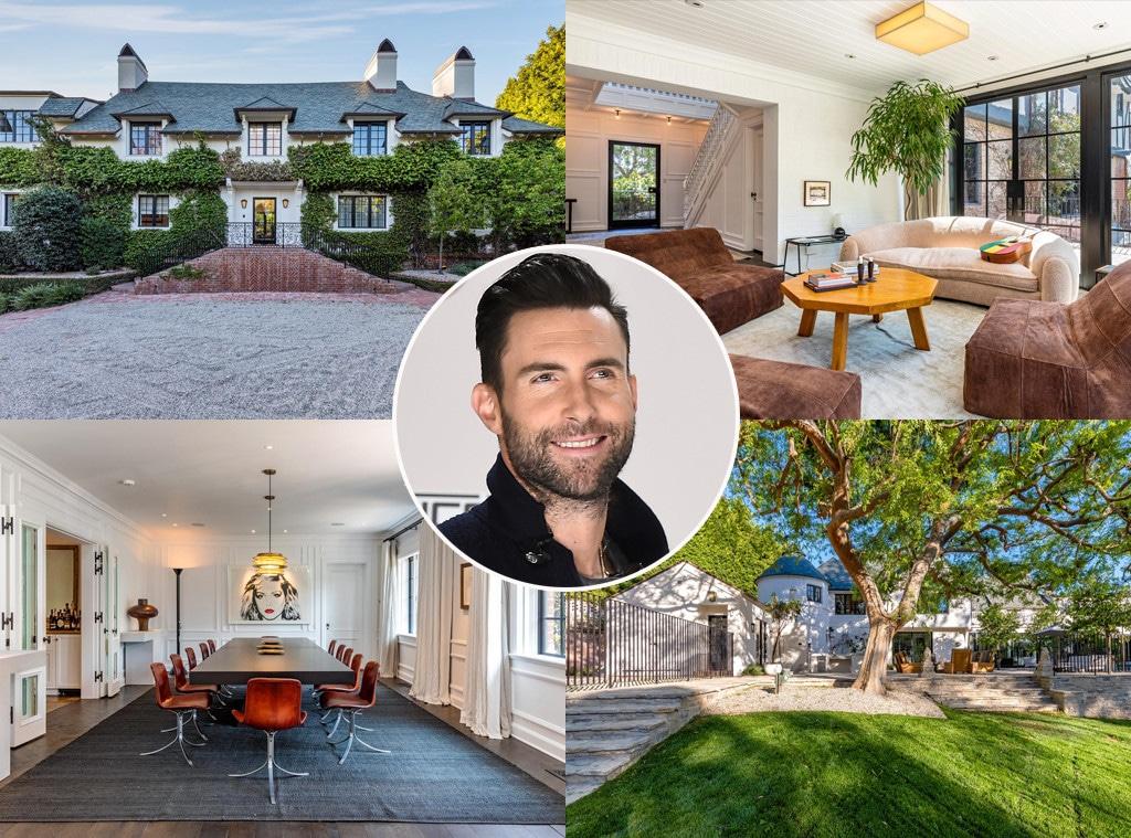 Adam Levine, Real Estate, Home