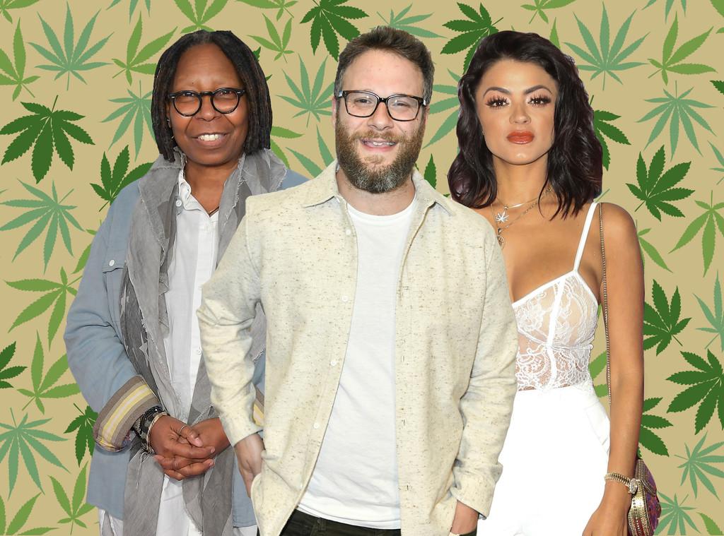 Celebrity Cannabis Companies, Seth Rogen, Whoopi Goldberg, Golnesa GG Gharachedaghi