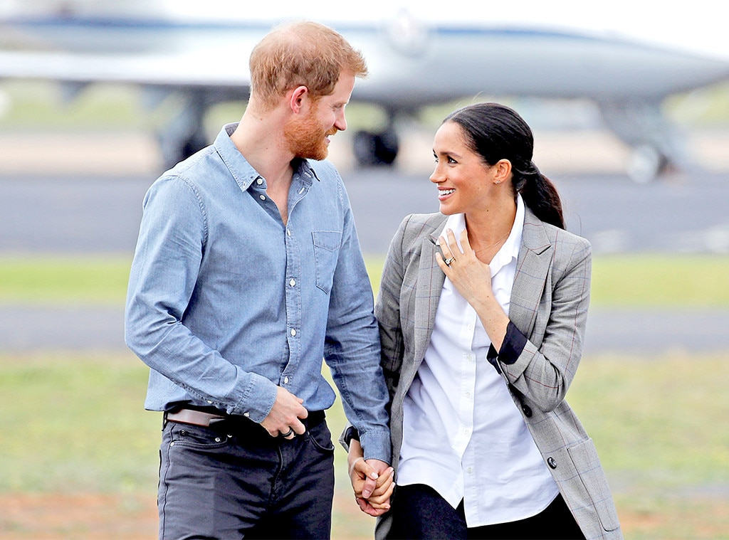 Harry and Meghan release new photos to mark first wedding anniversary