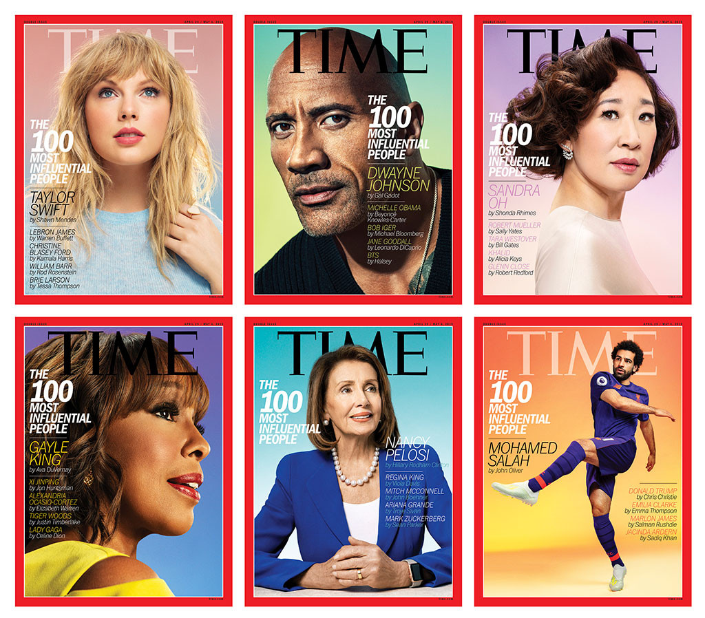 TIME 100, THE 100 MOST INFLUENTIAL PEOPLE IN THE WORLD