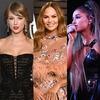 Taylor Swift, Chrissy Teigen, Ariana Grande