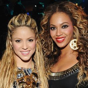 Shakira, Beyonce