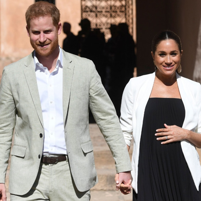 d0a9c2664 Prince Harry Speaks Out After Meghan Markle Gives Birth to Baby Boy | E!  News