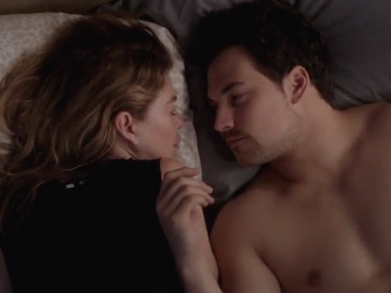 <i>Grey's Anatomy</i>'s Meredith and DeLuca Accidentally Take a Big Step